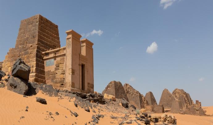 LAS PIRAMIDES SUDAN Y NUBIA